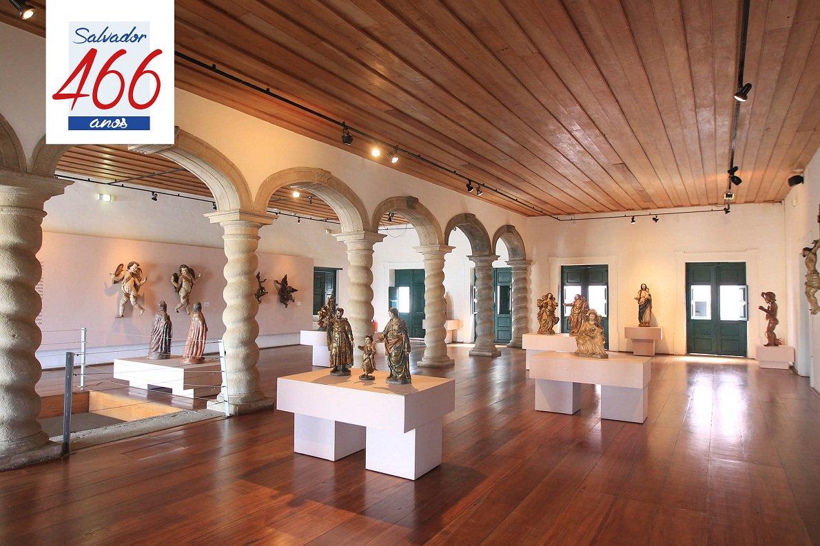 Museus guardam memória da arte de Salvador