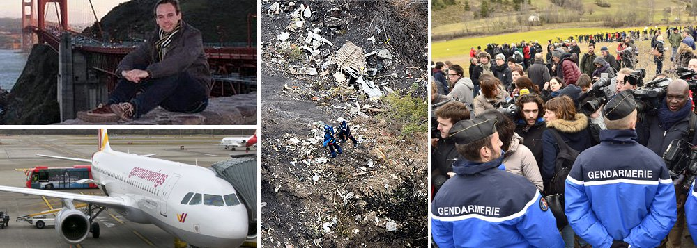 Copiloto 'parece ter derrubado avião deliberadamente'