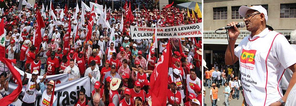 CTB: 'Nosso ato é em defesa da soberania nacional'