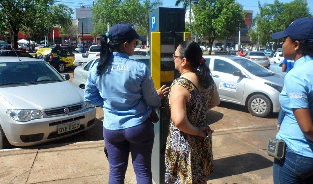 MPC pede suspensão do estacionamento rotativo em Palmas