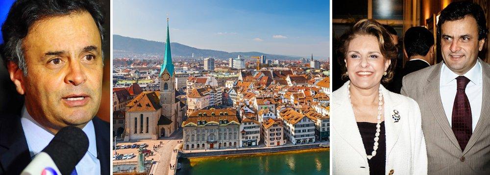 Aécio sobre Liechtenstein: é um assunto privado