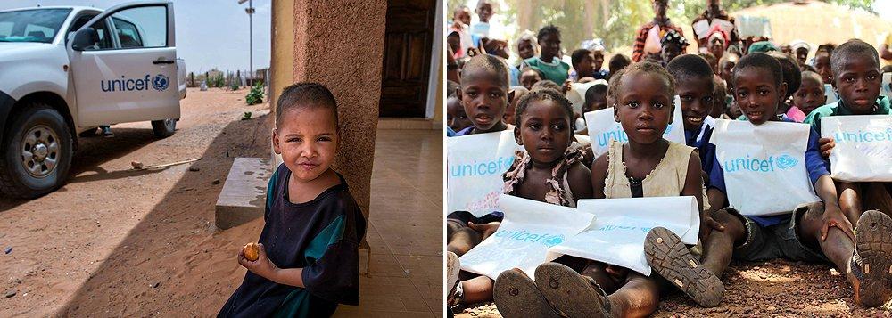 Unicef lança campanha mundial contra subnutrição infantil