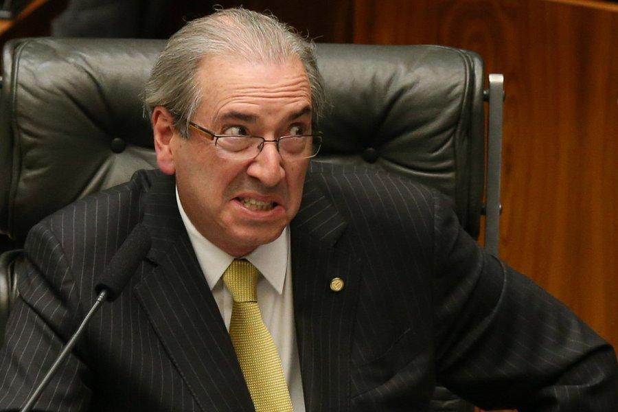 Contas de Cunha no Brasil estavam zeradas