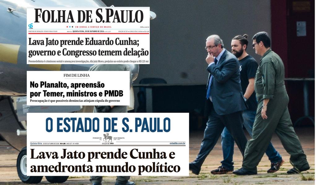 Prisão de Cunha causa pânico na cúpula do governo Temer