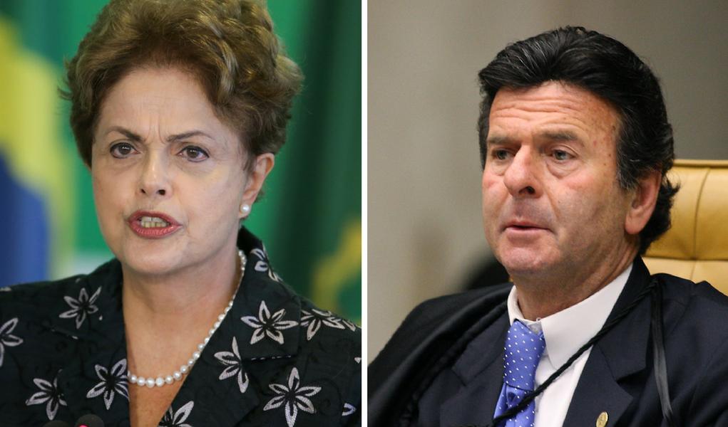 Dilma rebate Fux e diz que chapa com Temer não pode ser dividida