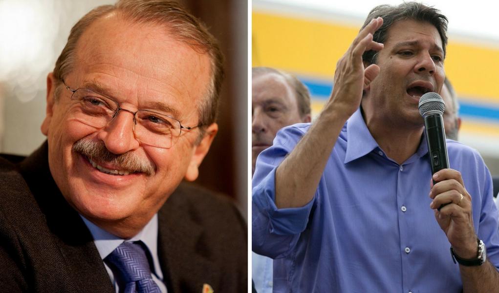 Tarso lança Haddad à presidência do PT