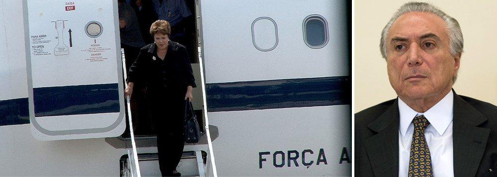 Depois de cortar o avião, Temer corta comida de Dilma. O que falta?