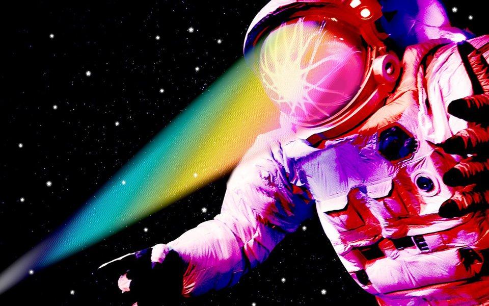 Viagem espacial. Raios cósmicos são perigosos para o cérebro dos astronautas