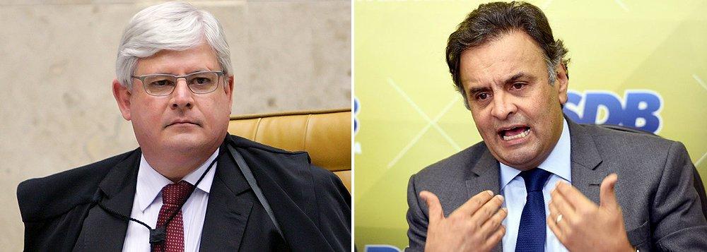 Janot: é imperioso investigar Aécio Neves