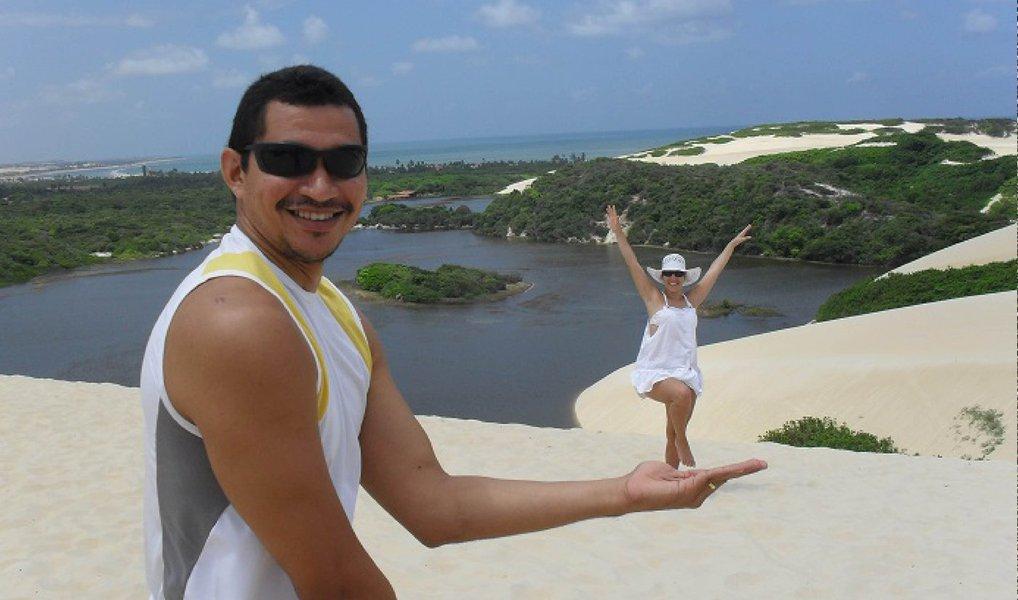 Olimpíada: Clodoaldo Silva surfa nas areias de Natal