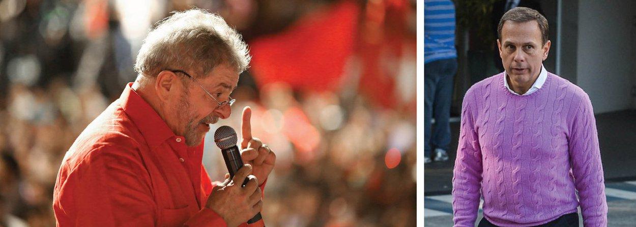 Antes do Panamá, Doria disse que pediria a Moro para adiar prisão de Lula