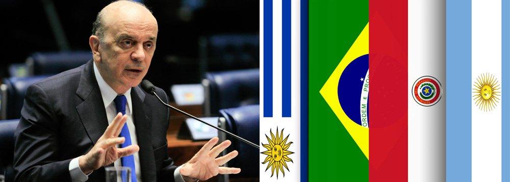 Política externa pode ter guinada com Serra