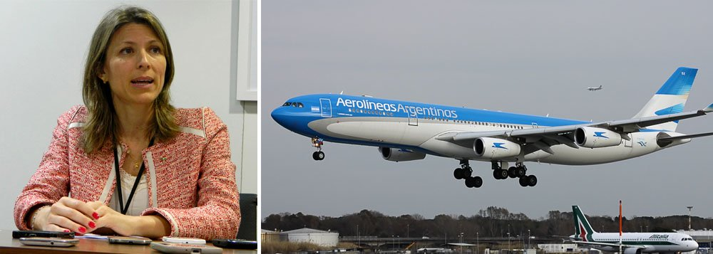 Brasileira presidirá Aerolíneas Argentinas no governo Macri