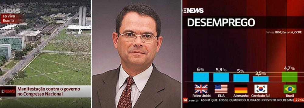 Jornalista rejeita pedido de diretor da Globo para mentir em email