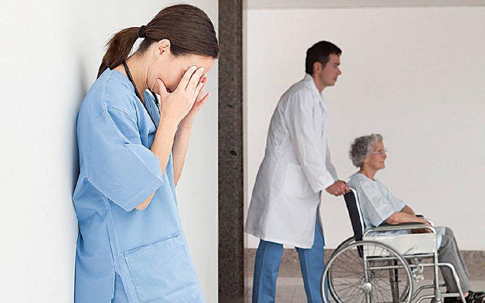 Mortalidade. Índice aumenta com a sobrecarga de trabalho dos enfermeiros