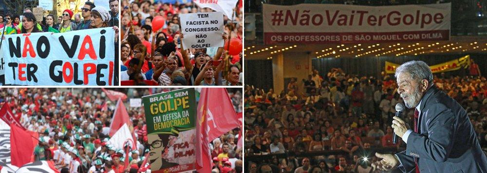 Lula é o motor do ânimo na luta contra o golpe