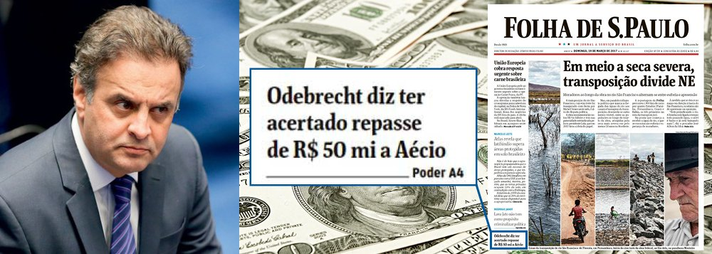 Mistério: por que a Folha escondeu os R$ 50 milhões de Aécio Neves?