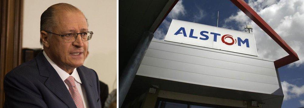 MP decide investigar perdão concedido por Alckmin à Alstom