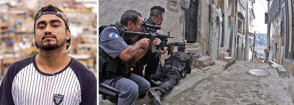 Raull Santiago relata os tiroteios nas favelas
