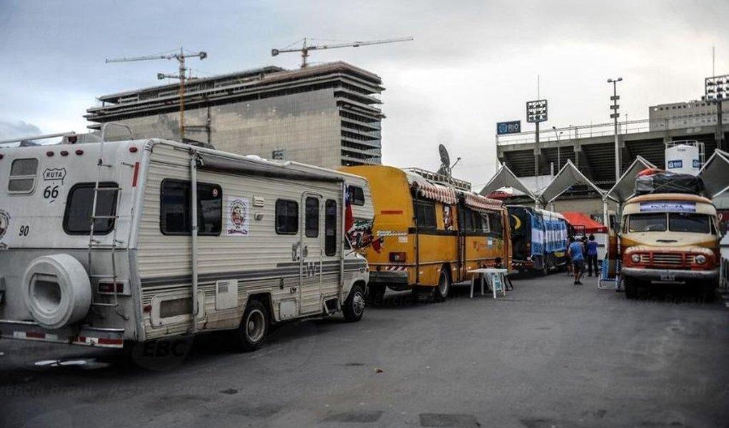 Turistas de motorhome na Rio 2016 terão que estacionar em Niterói