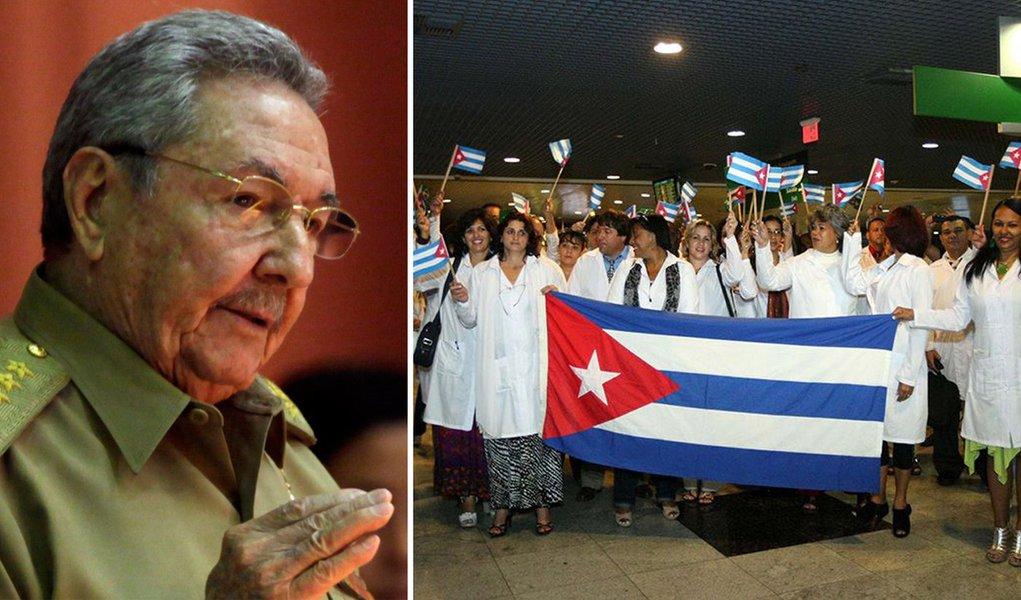 Raul Castro convoca profissionais do Mais Médicos de volta a Cuba