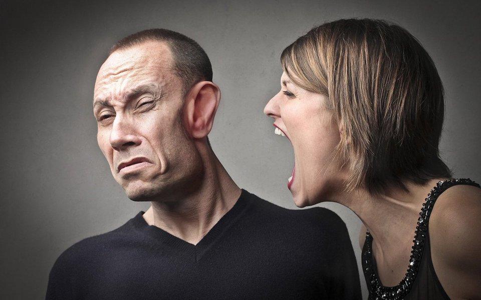 O som do grito. Ele assusta e perturba as pessoas mais sensíveis