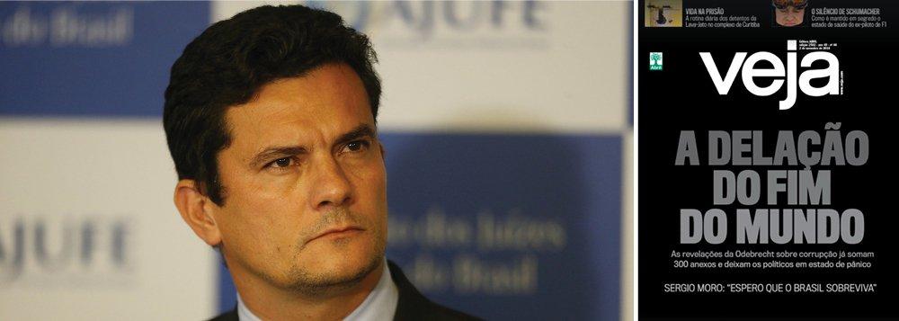Moro diz que Brasil pode não sobreviver à delação da Odebrecht
