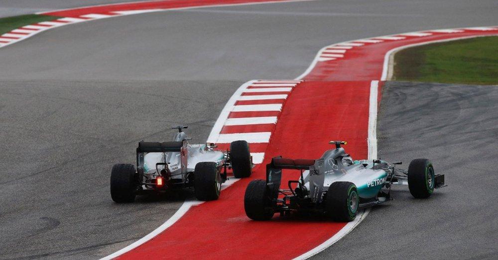 Hamilton vence GP dos EUA e é tricampeão mundial de F1
