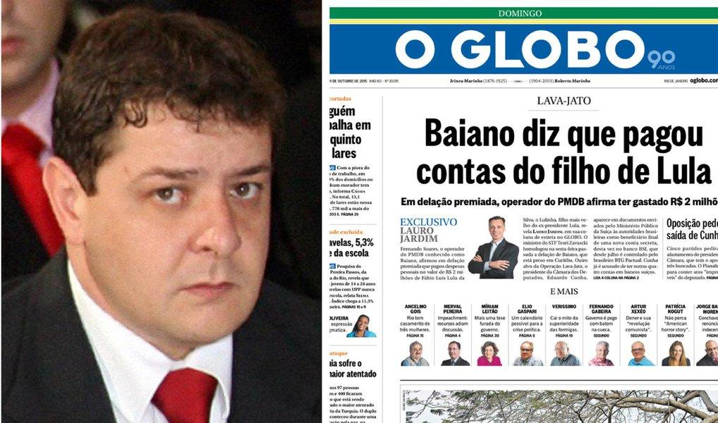 Lauro Jardim agora ataca advogado do filho de Lula