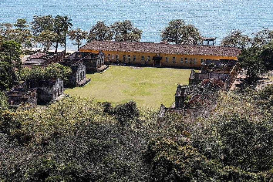 Parque Ilha Anchieta é opção de destino turístico em SP