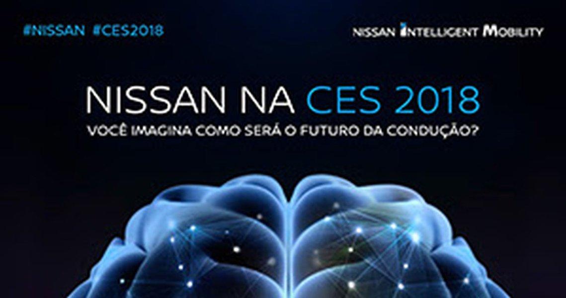 """Nissan vai abordar """"mobilidade inteligente"""" na CES 2018"""