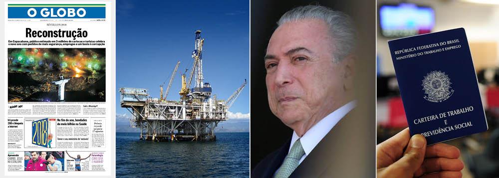 Globo pede a reconstrução de um país que ela destruiu