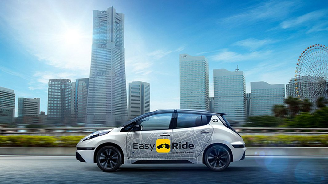 Nissan e DeNA divulgam aplicativo Easy Ride