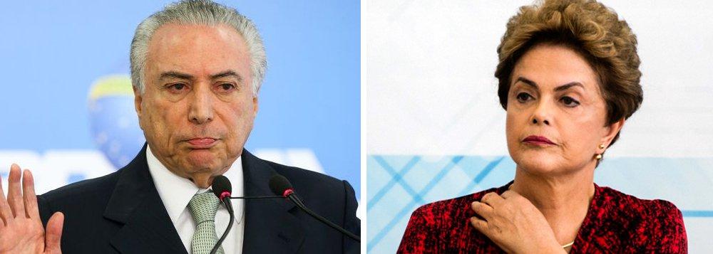 Ibope: 62% das mulheres brasileiras acham Temer pior que Dilma