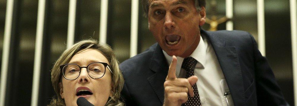 DCM aponta o dedo de Bolsonaro por trás da comemoração do assalto a Maria do Rosário
