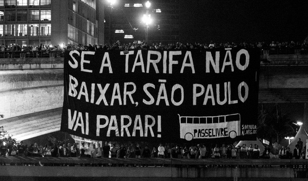Movimento Passe Livre marca protesto para dia 11 de janeiro