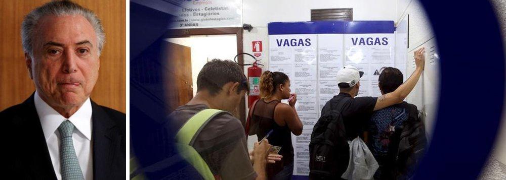 Brasil fecha 12,3 mil vagas formais no mês em que reforma entrou em vigor