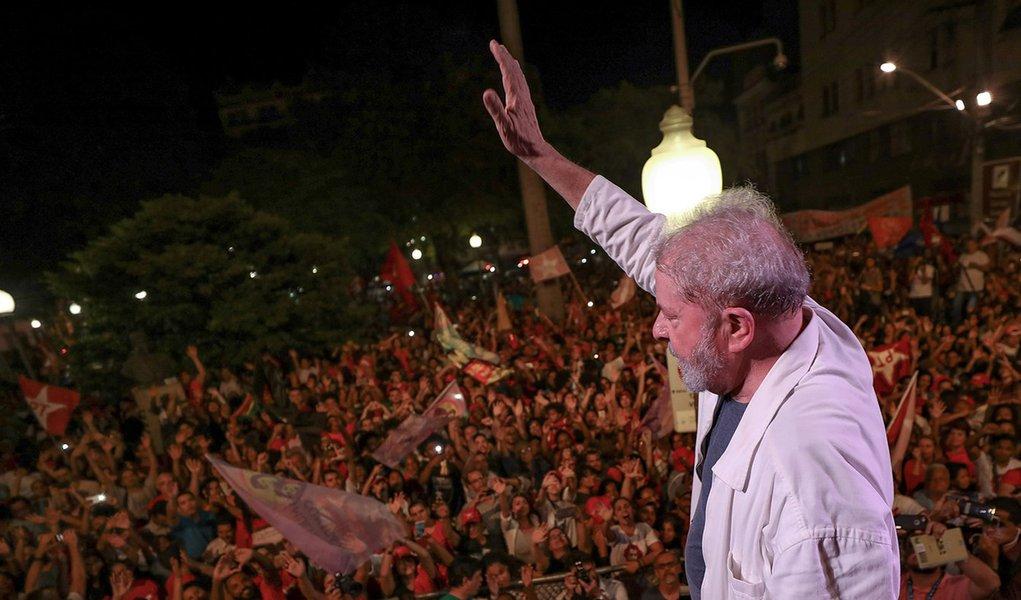 Há 80% de chances de Lula vir a Porto Alegre, diz Frente Brasil Popular