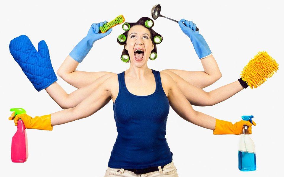 O poder da vassoura. Fazer faxina faz bem ao corpo, à mente e ao coração