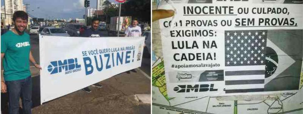 MBL não consegue quórum para protestos contra Lula no país