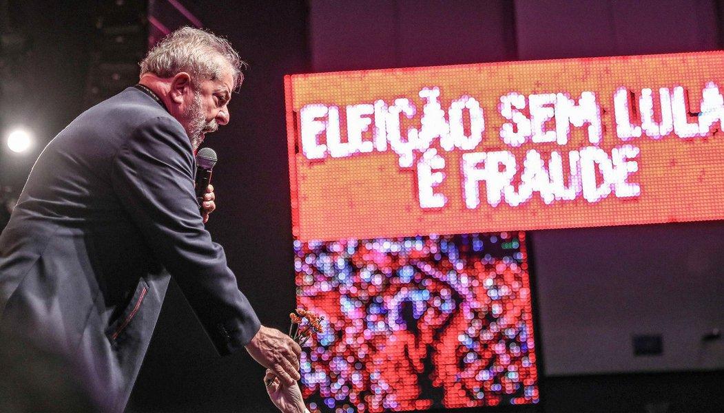 """Lula: querem transformar o Brasil no """"Caldeirão do Huck"""""""