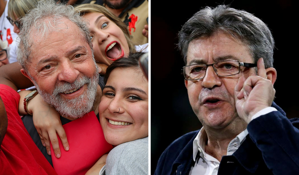 """Mélenchon assina manifesto """"Eleição sem Lula é fraude"""""""