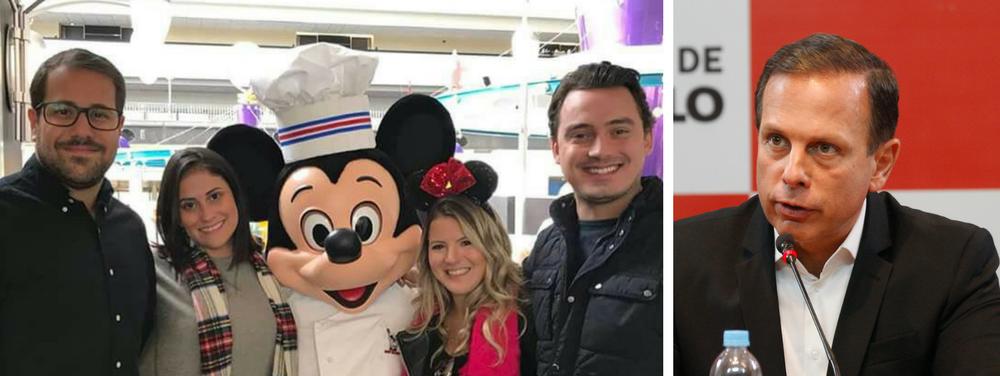 Pinheiros está embaixo d´água enquanto o subprefeito do Doria brinca na Disney