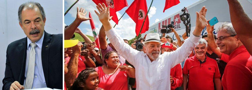 Mercadante: condomínio golpista não encontrou nada que pudesse disputar com Lula