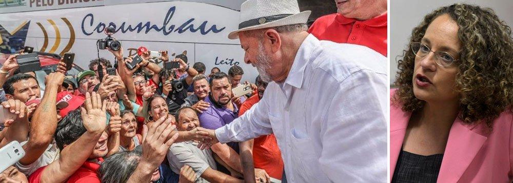 Luciana Genro: é absurdo que Lula seja julgado enquanto Temer e Aécio, não