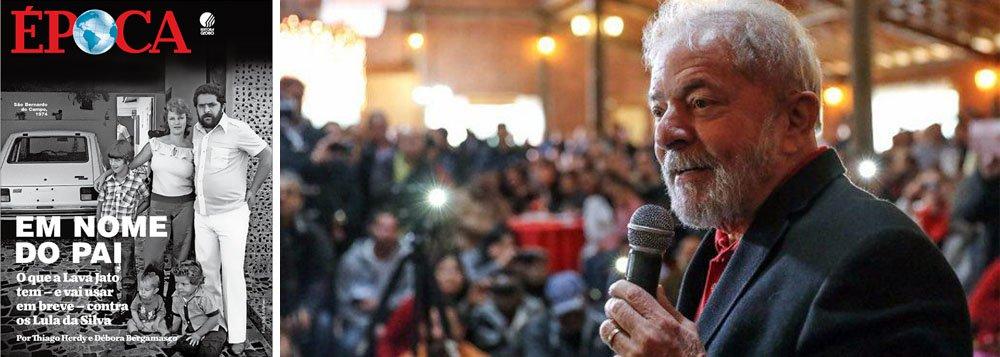 Foco da Lava Jato em 2018 será ataque aos filhos de Lula, anuncia a Globo