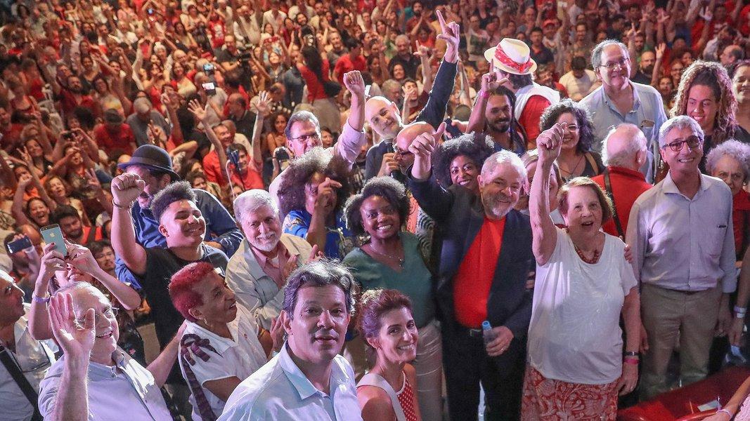 """Lula: """"estou com a tranquilidade dos justos e inocentes"""""""