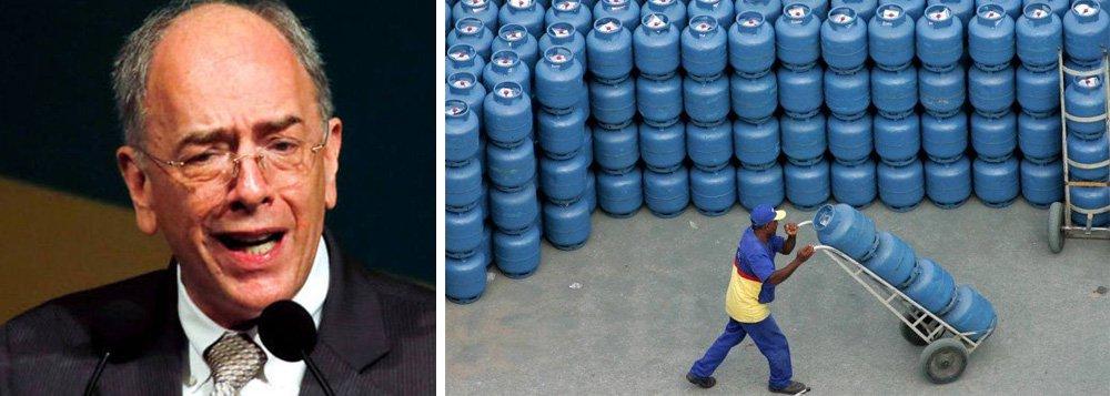 Parente: redução no preço do gás de cozinha é 'puramente empresarial'