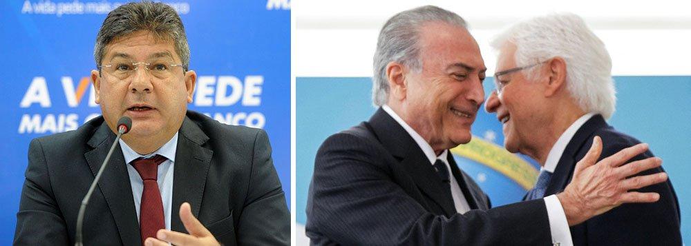 Vice repassava dados sigilosos da Caixa a Temer e Moreira