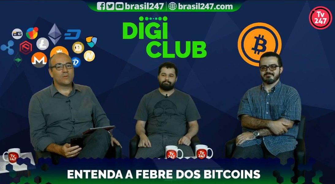 TV247 lança programa DigiClub e explica o básico sobre Bitcoin, Blockchain e criptomoedas